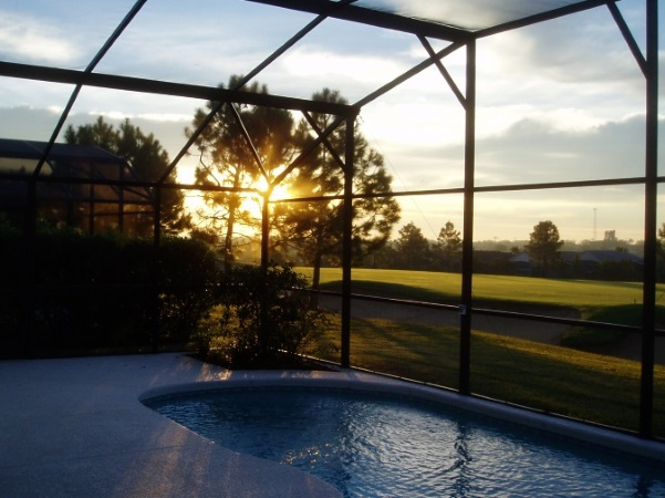 sunrise at Florida Breeze Villa