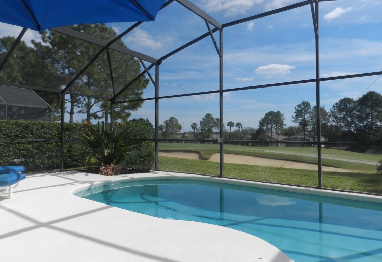 Florida Breeze Villa pool